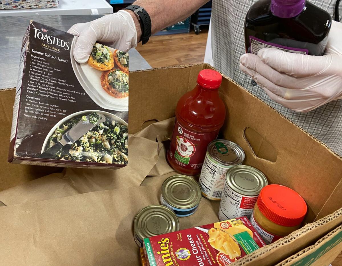 foothills food bank food boxes