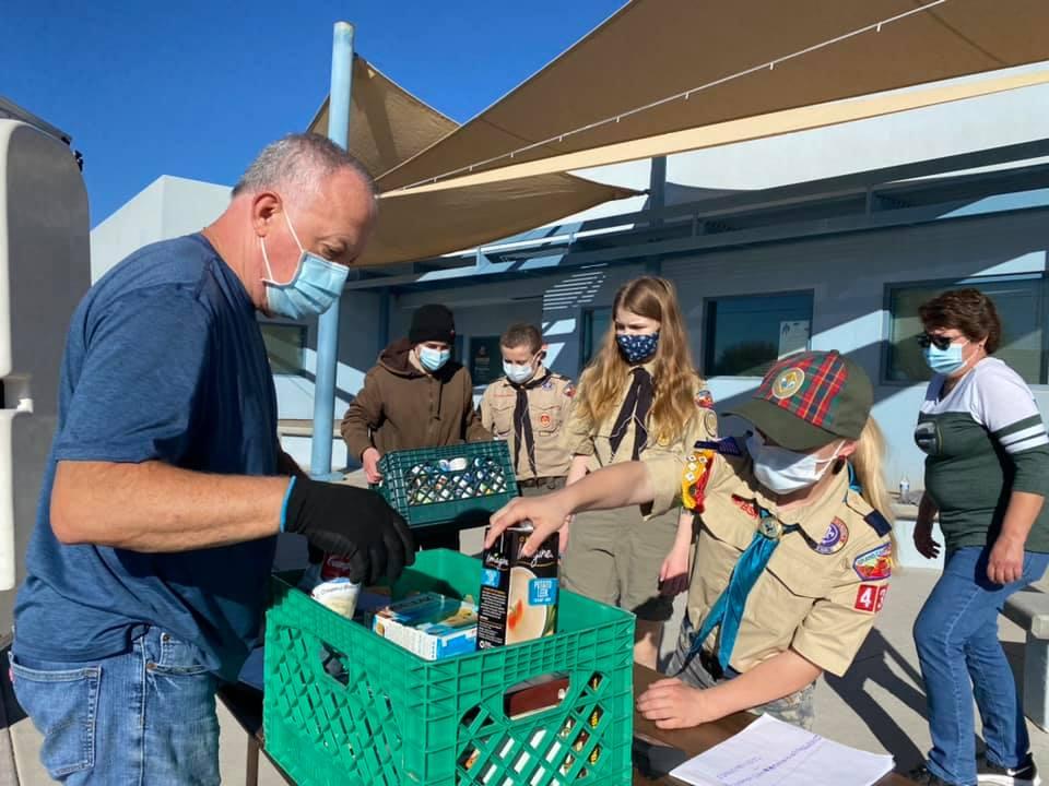 food drive fund raiser for food bank