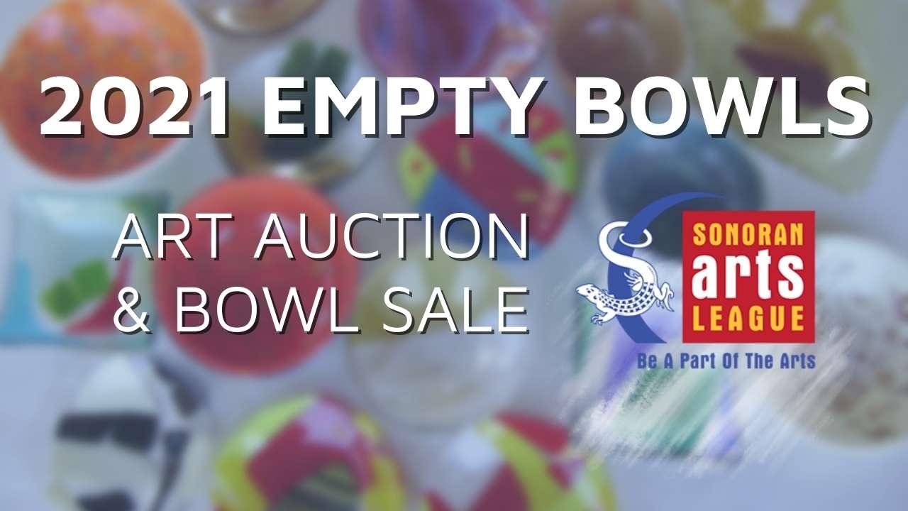 2021 empty bowls project art auction and bowl sale