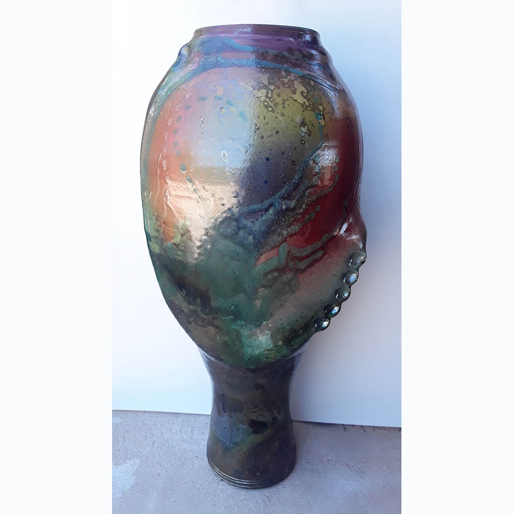 Heede-large-Raku-vase-view1