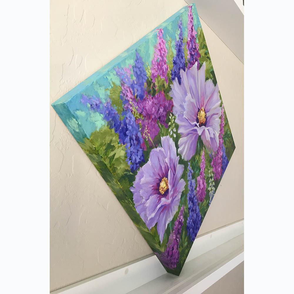 Nancy Breiman-lavender poppies