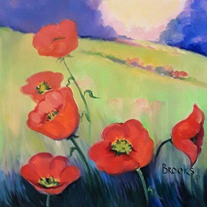 Virginia Brooks-poppies