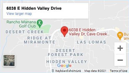 foothills food bank cave creek map