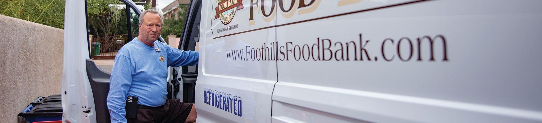 foothills food bank mission and history