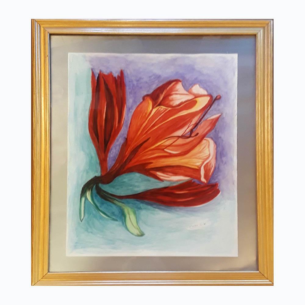 Cherie Behn-Red Flower