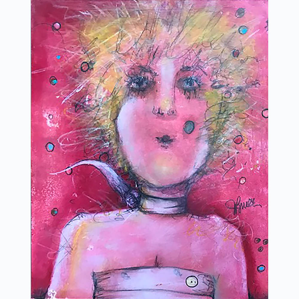 Judy_Bruce-Girl in Pink
