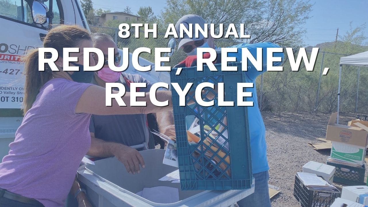 Reduce Renew Recycle Shred-A-Thon Fundraiser