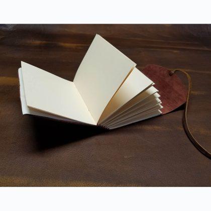 Tess Mosko Scherer - leather journal