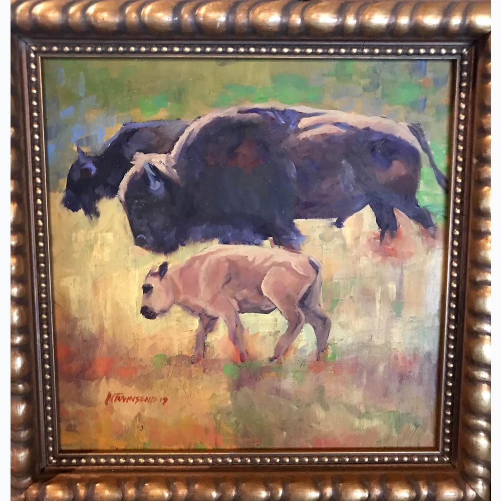 Townsend_three bison