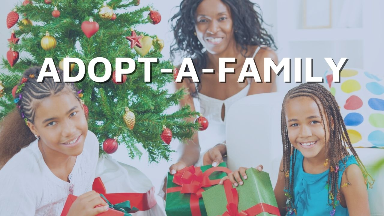 adopt a family at the foothills food bank